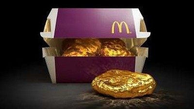 McDonald's Is Giving Away an 18-Karat Gold McNugget So You'll Try Its New Sauces
