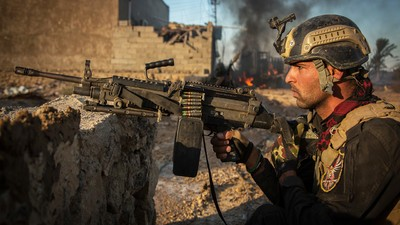Fighting the Islamic State with Iraq's Golden Division: The Road to Fallujah