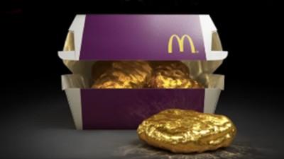 McDonald's sortea un McNugget de oro de 18 quilates