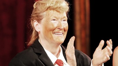 Meryl Streep in Trump Cosplay Looks Even Scarier Than the Real Trump