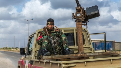 On the Front Lines with the Militias Trying to Save Libya from ISIS