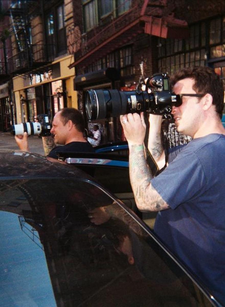 Wenn Paparazzi selbst vor die Linse geraten