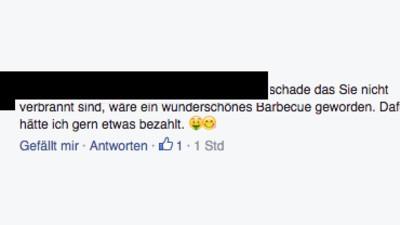 Die dümmsten Kommentare zur abgebrannten Flüchtlingsunterkunft
