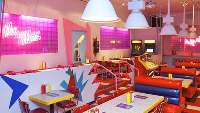 You Can Now Eat at the Diner from 'Saved by the Bell'