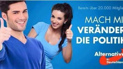 Die AfD benutzt rumänische Models für ihre Wahlwerbung