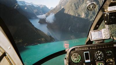Dans le cockpit d'un pilote d'hélicoptère