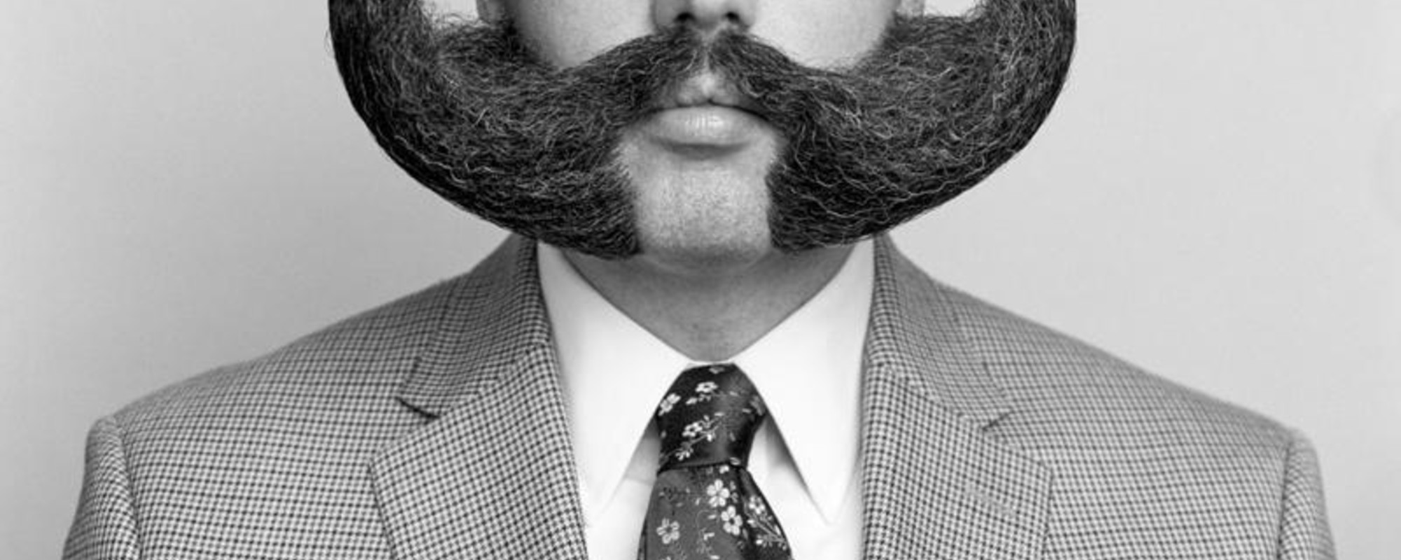 Borstelige portretten van de World Beard and Moustache Championships