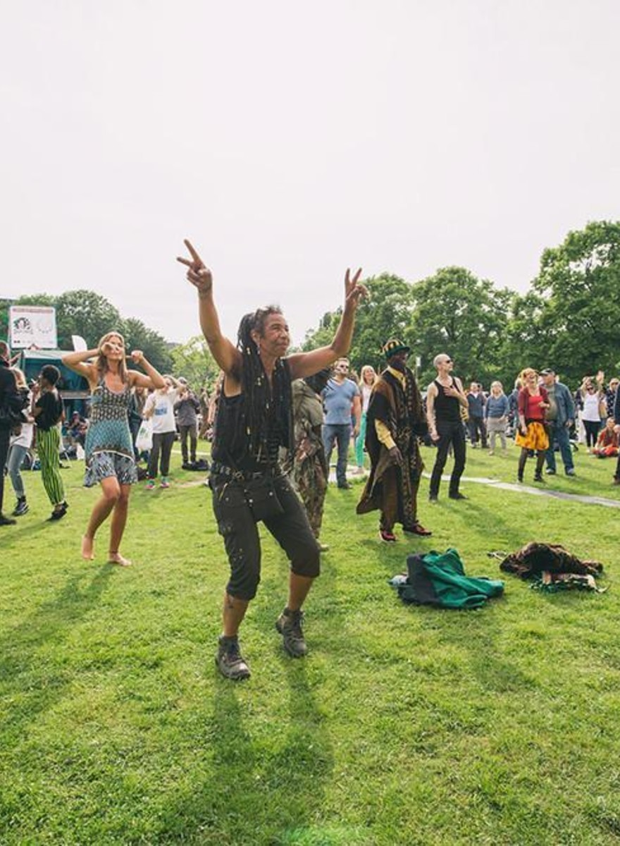 Photos from Amsterdam's Cannabis Liberation Festival