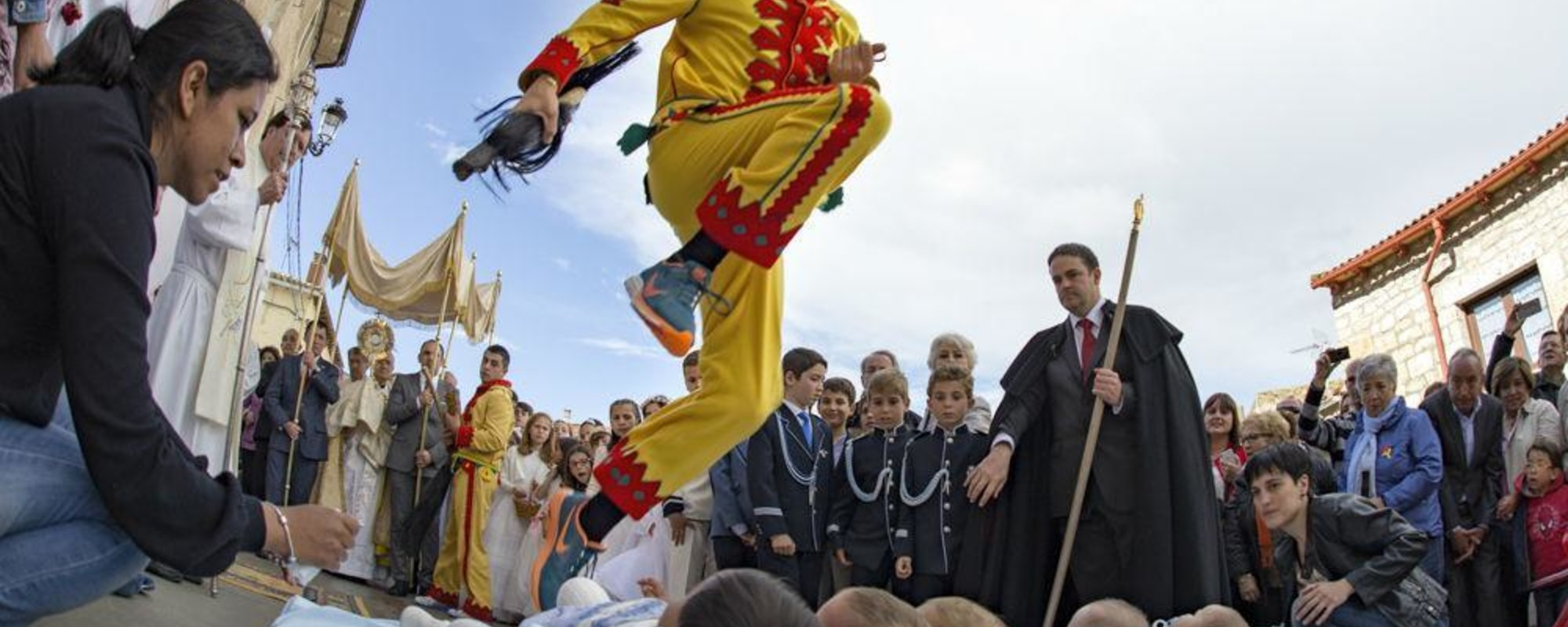 Why Spanish People Dress Up As Demons and Jump Over Babies