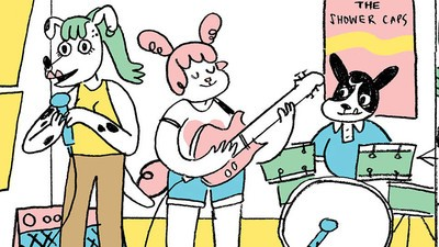 'Guitar Lesson,' Today's Comic by Alabaster Pizzo