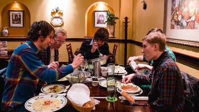 I Went on a Date with Rozwell Kid—All Four of Them—and They Took Me to Olive Garden
