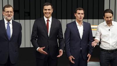 La corrupción resucita el debate de los candidatos a las elecciones españolas del 26J