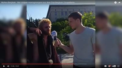 Wenn Nachwuchs-Journalisten zum Berghain geschickt werden