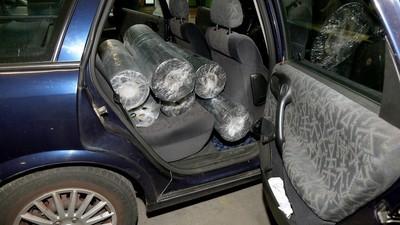 Die Berliner Polizei hat 80 Kilo Heroin sichergestellt
