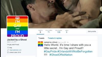 Dieser Hacker trollt IS-Twitterer mit Regenbogenfahnen und Schwulenpornos