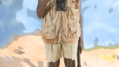 Fotografando os falsos piratas da Somália