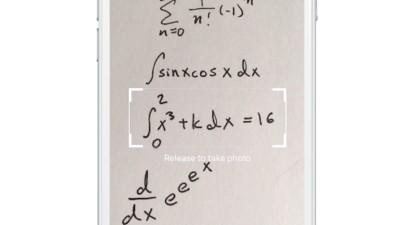 Prüfung bestanden: Diese App löst die schwersten Mathe-Gleichungen für dich