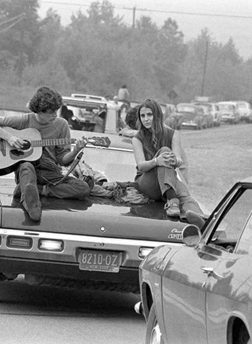 Así eran los jóvenes de Woodstock 1969