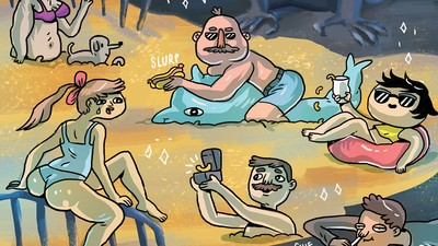 'Cheese Doodles,' Today's Comic by Ida Eva Neverdahl