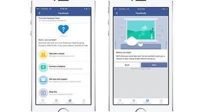Facebook quiere prevenir los suicidios con su última herramienta