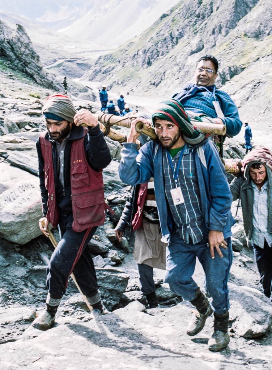 De Indiase bedevaartstocht naar de heilige ijspenis
