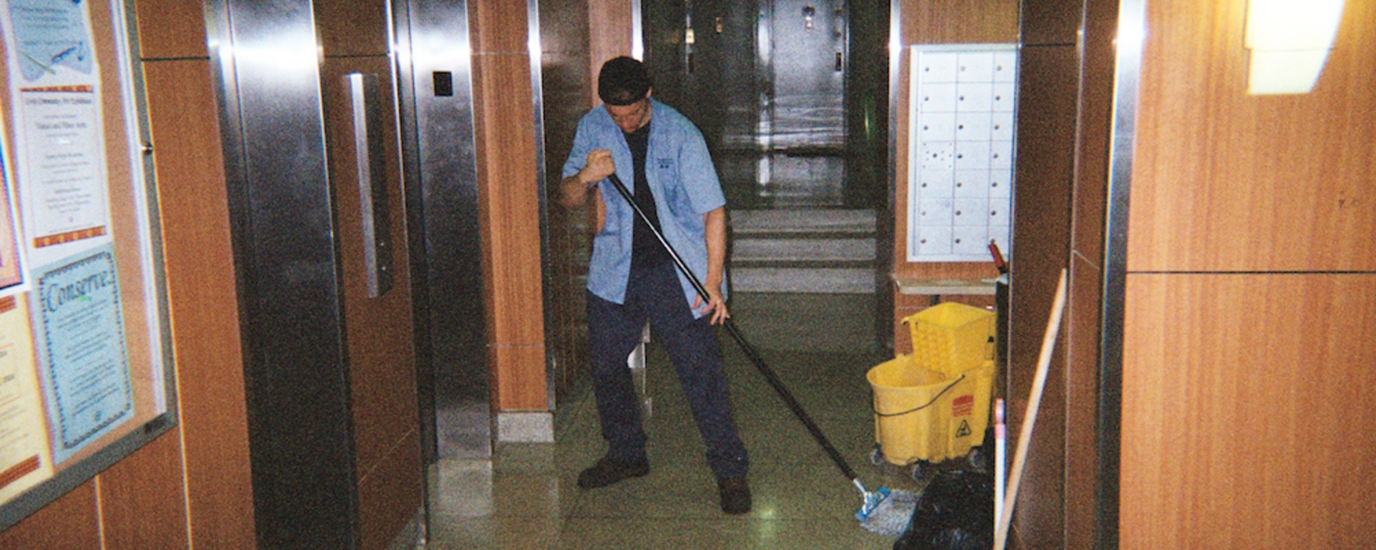 The Dirty Work Maintenance Men Have to Do to Keep Your Building Clean