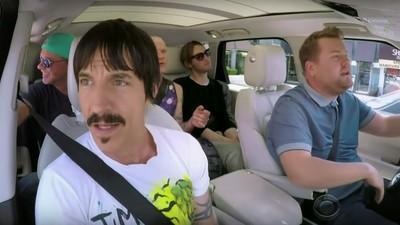 O Anthony Kiedis salvou um bebê durante as gravações do 'Carpool Karaokê'