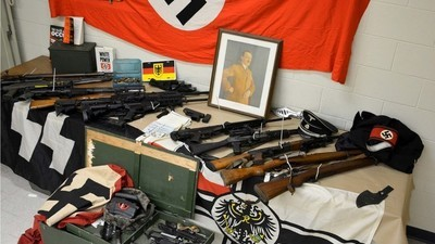Cops Found Guns, Drugs, Bombmaking Tips, and Nazi Swag in a Long Island House