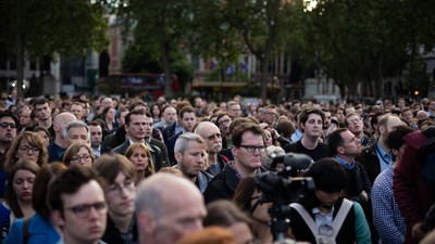 Photos from the London Vigil Held in Tribute to Murdered Labour MP Jo Cox