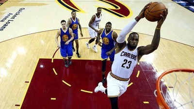 LeBron James, the NBA Finals, and the Business of Astonishment