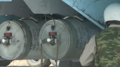 Russland hat gerade versehentlich verraten, dass es Streubomben über Syrien abwirft