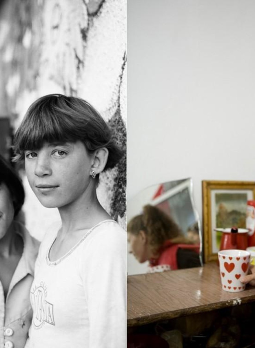 Photos of Romania's Neglected Orphans Then and Now