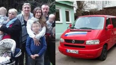 """Die Griesbachs: Sie flohen aus der """"BRD-Diktatur"""" nach Russland und wohnen dort zu acht im VW-Bus"""