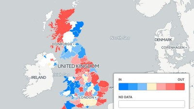 How Your Hometown Is Voting in the EU Referendum, and Why