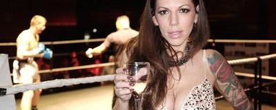 Viúva Negra: a mulher que está a dominar o mundo masculino do boxe