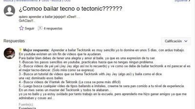 Las preguntas más insólitas sobre música electrónica en Yahoo Respuestas
