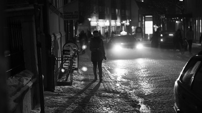 Warum ich nachts nur ungern alleine nach Hause gehe