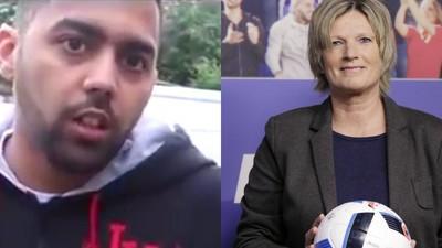 Wenn Deutschrapper Probleme mit Fußballkommentatorinnen haben