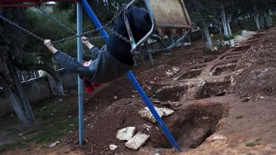 Rodrigo Abd retrata a los niños de la guerra en Siria