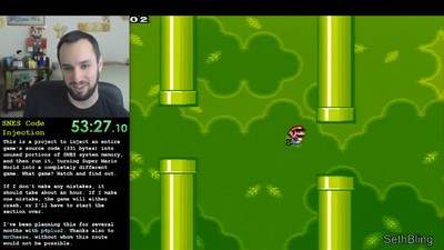 L'injection de code arbitraire, ou comment jouer à Flappy Bird dans Super Mario