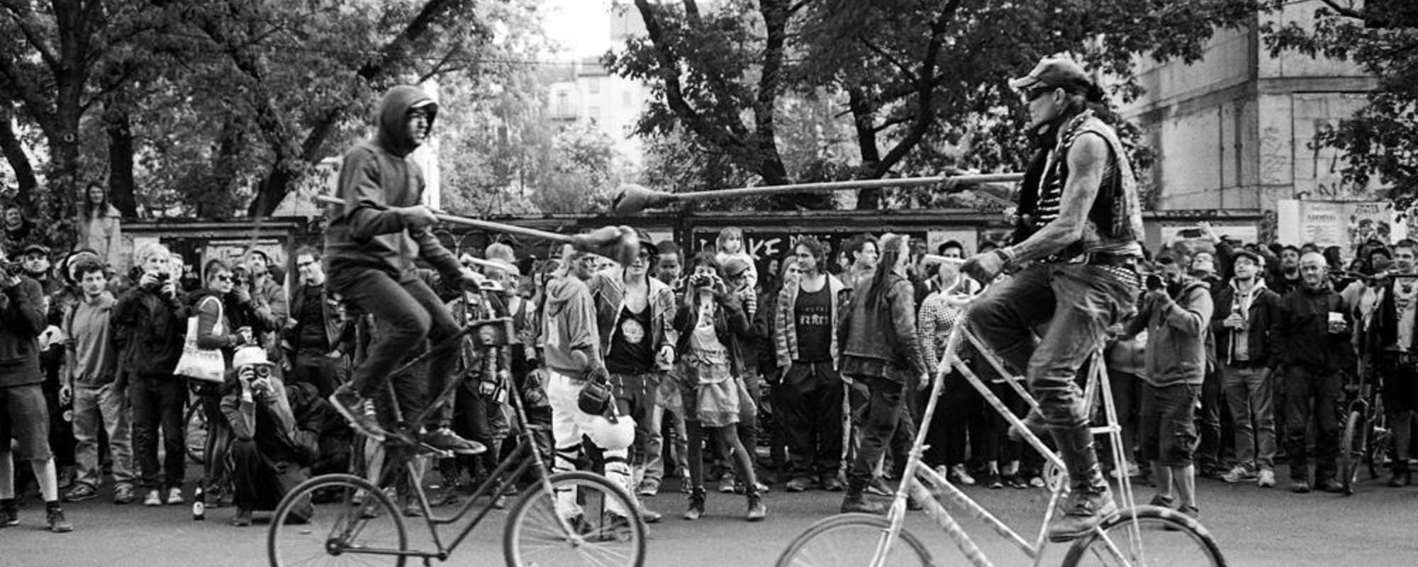 Fotografii cu Războiul cu Biciclete din Berlin