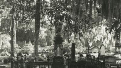 Stemmige en spookachtige foto's van oude begraafplaatsen