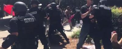 Neonazi-Demo in Kalifornien: Mehrere Verletzte bei Messerstecherei