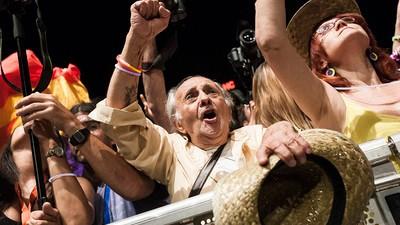 26J: fotos de la noche electoral en la que nada cambió