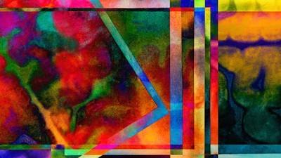 Kaleidoscopic MRI Art Brings Beauty to Neurological Illness