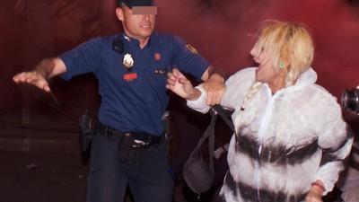 Los neonazis de Hogar Social Madrid intentaron reventar la fiesta del PP
