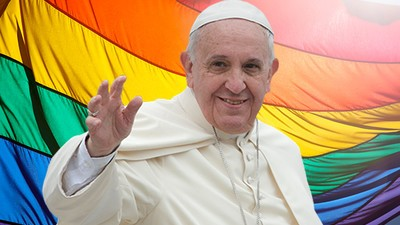 Pope Francis Thinks Catholics Owe the Gay Community an Apology