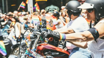 The Sirens of Gay Pride Ride for Orlando Victims