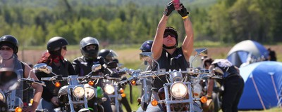 Inside One of North America's Few All-Women Biker Fests