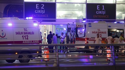 Suicide Bombers Hit Istanbul's Ataturk Airport